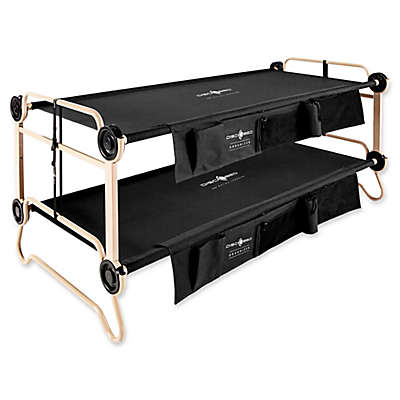 Disc-O-Bed™ Disco-O-Beds with Side Organizer in Black