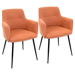 LumiSource Andrew Arm Chairs (Set of 2)