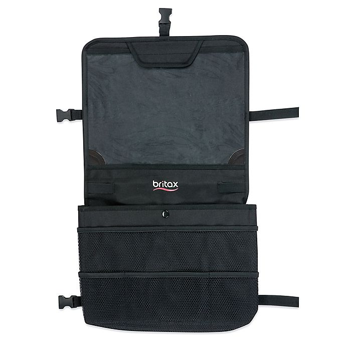 Alternate image 1 for BRITAX View-N-Go Backseat Organizer in Black