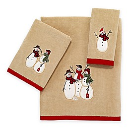 Avanti Snowmen Gathering Bath Towel
