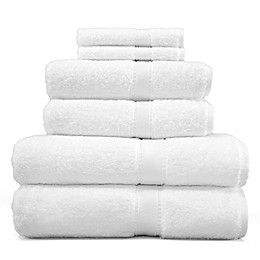 Linum Home Textiles 6-Piece Terry Towel Set in White
