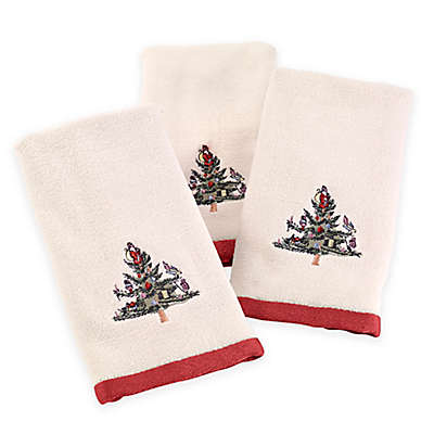 Avanti Spode Tree Fingertip Towels