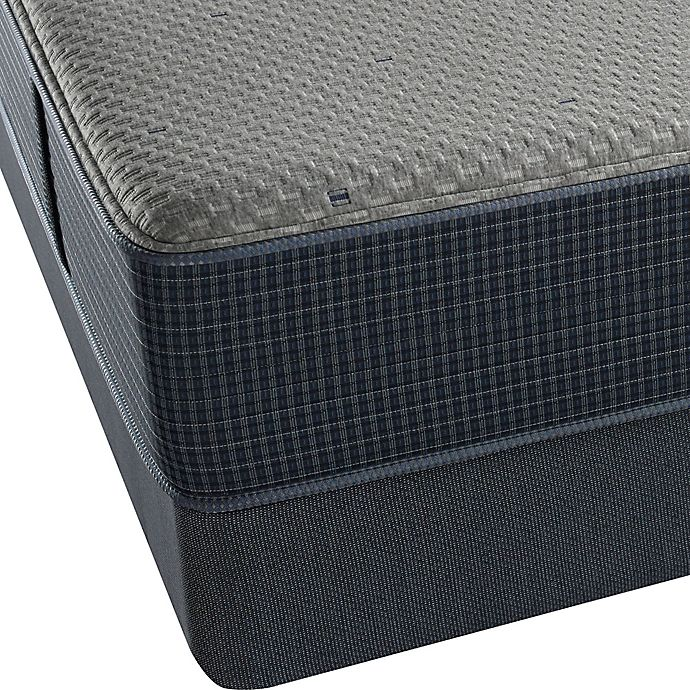 Alternate image 1 for Beautyrest® Silver™ Hybrid Barnegat Bay Luxury Firm Low Profile Twin Mattress Set