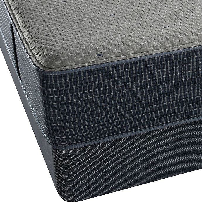 Alternate image 1 for Beautyrest® Silver™ Hybrid Lake Forest Heights Plush Low Profile Twin XL Mattress Set