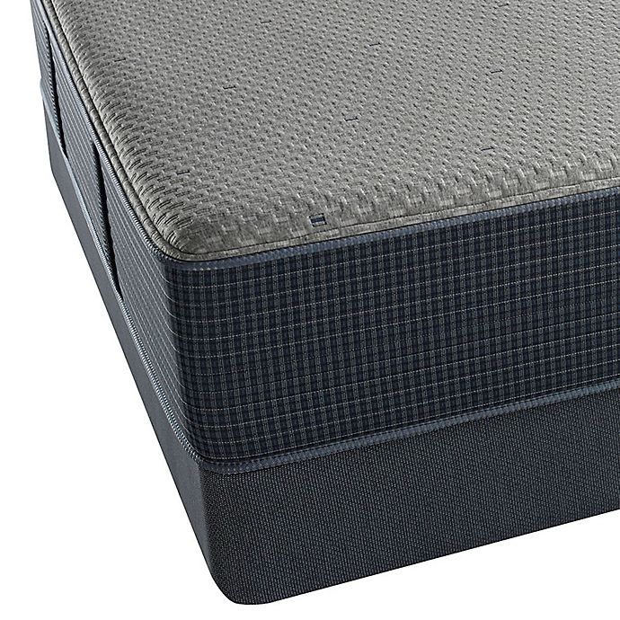 Alternate image 1 for Beautyrest® Silver Hybrid Newport Harbor Luxury Firm Low Profile California King Mattress Set