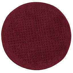 Mohawk Home Vista 3-Foot Round Area Rug in Cabernet