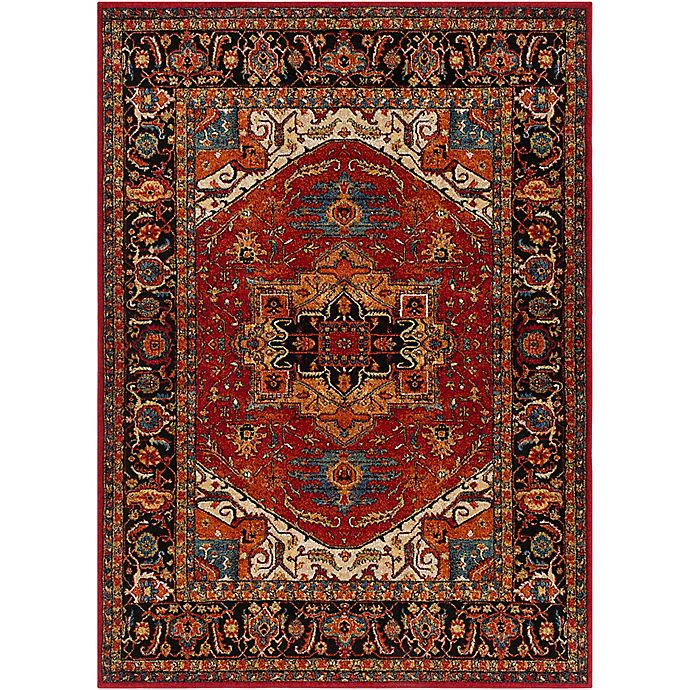 Alternate image 1 for Surya Uthaca 7-Foot 10-Inch x 10-Foot 6-Inch Area Rug in Dark Red