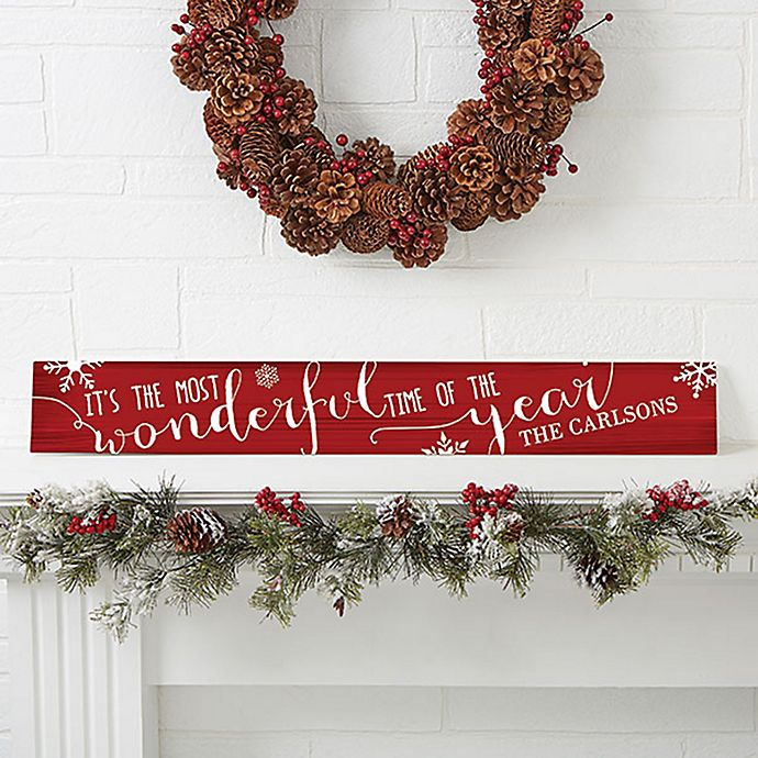 Alternate image 1 for Christmas Quotes Wooden Sign