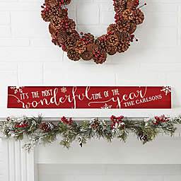 Christmas Quotes Wooden Sign