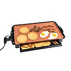 Nostalgia™ Electrics Copper Griddle with Drawer