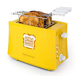 Nostalgia™ Electrics Grilled Cheese Sandwich Toaster in Yellow