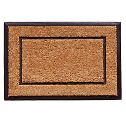 Home & More The General 24-Inch x 36-Inch Door Mat in Natural/Black