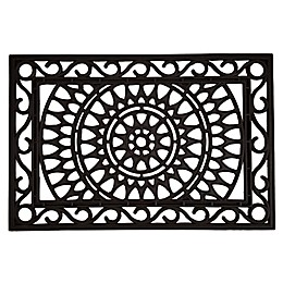 Home & More Sungate 240Inch x 36-Inch Rubber Door Mat