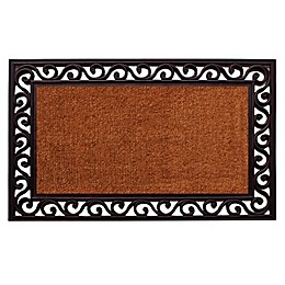 Home & More Rembrandt 18-Inch x 30-Inch Door Mat in Black
