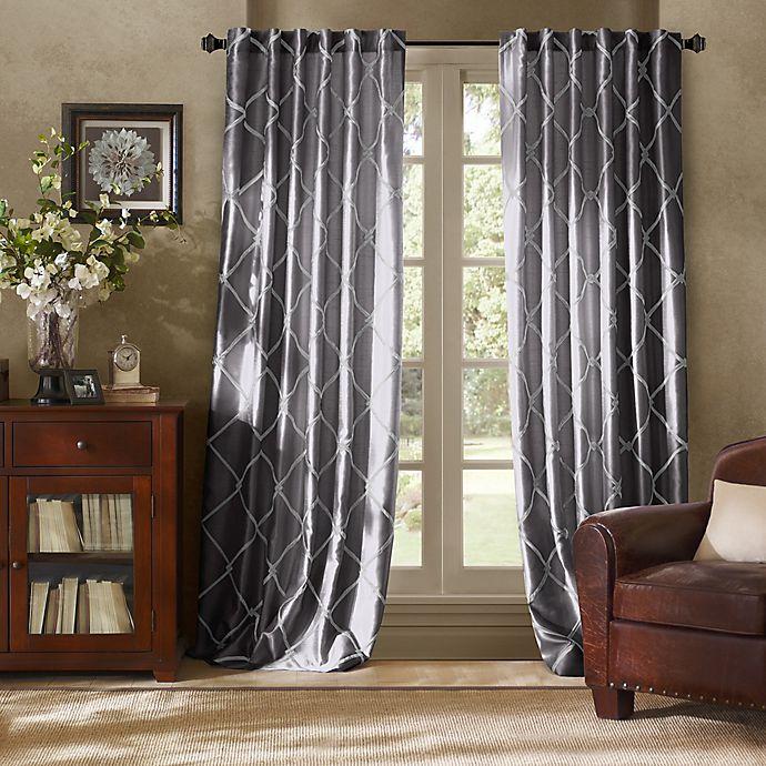 Alternate image 1 for Bombay™ Garrison Rod Pocket/Back Tab Window Curtain Panel