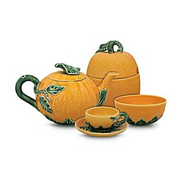 Bordallo Pinheiro Orange Serveware Collection