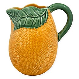 Bordallo Pinheiro Orange Pitcher
