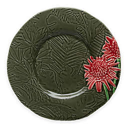 Bordallo Pinheiro Vista Alegre Tropical Torch Ginger Dessert Plates (Set of 4)