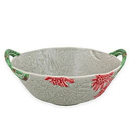 Bordallo Pinheiro Vista Alegre Tropical Salad Bowl