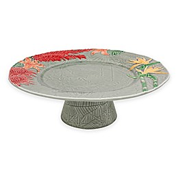 Bordallo Pinheiro Vista Alegre Tropical Cake Stand