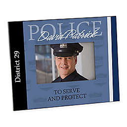 Police 4-Inch x 6-Inch Picture Frame