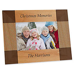 Create Your Own Holiday 4-Inch x 6-Inch Picture Frame