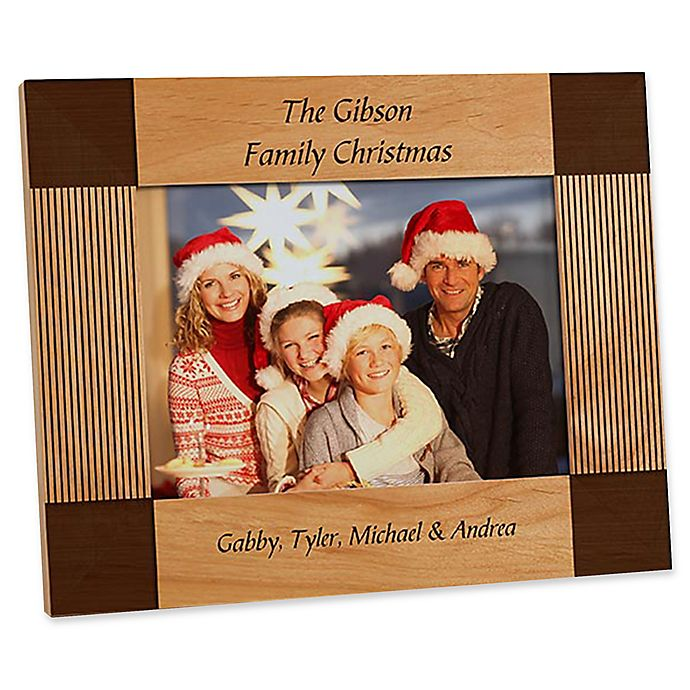 Alternate image 1 for Create Your Own Holiday 5-Inch x 7-Inch Picture Frame