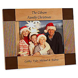 Create Your Own Holiday 5-Inch x 7-Inch Picture Frame
