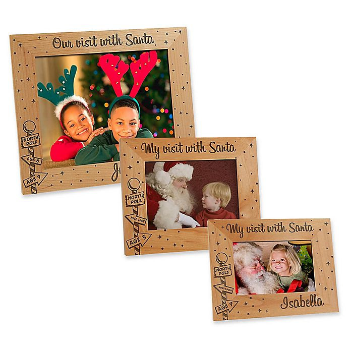 Alternate image 1 for Santa & Me Picture Frame