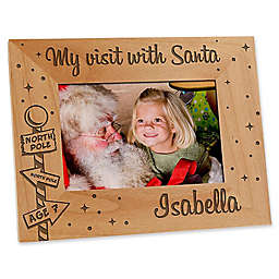Santa & Me 4-Inch x 6-Inch Picture Frame