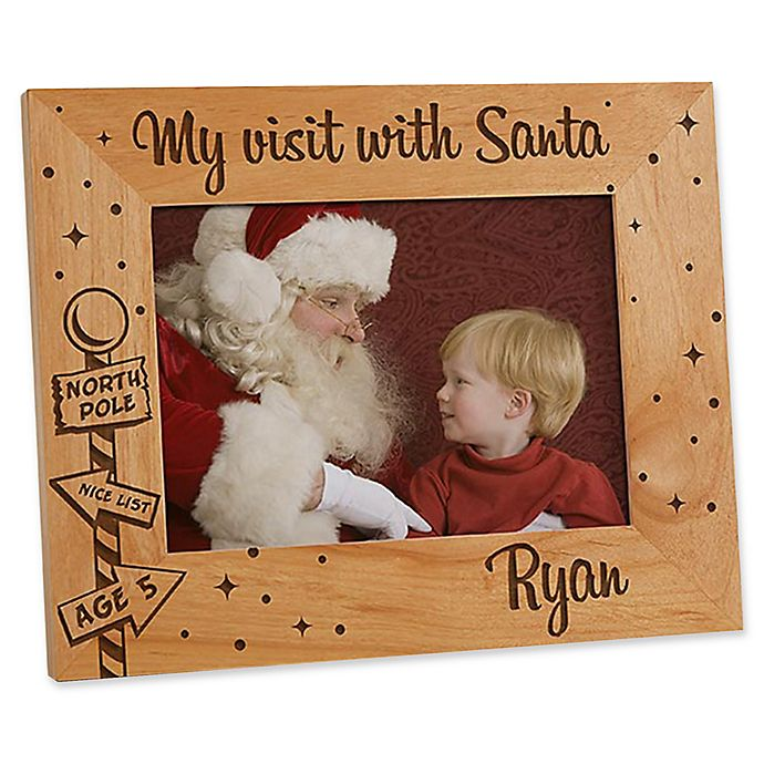 Alternate image 1 for Santa & Me 5-Inch x 7-Inch Picture Frame