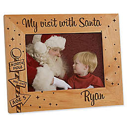 Santa & Me 5-Inch x 7-Inch Picture Frame
