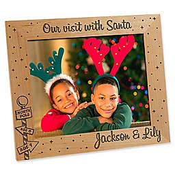 Santa & Me 8-Inch x 10-Inch Picture Frame