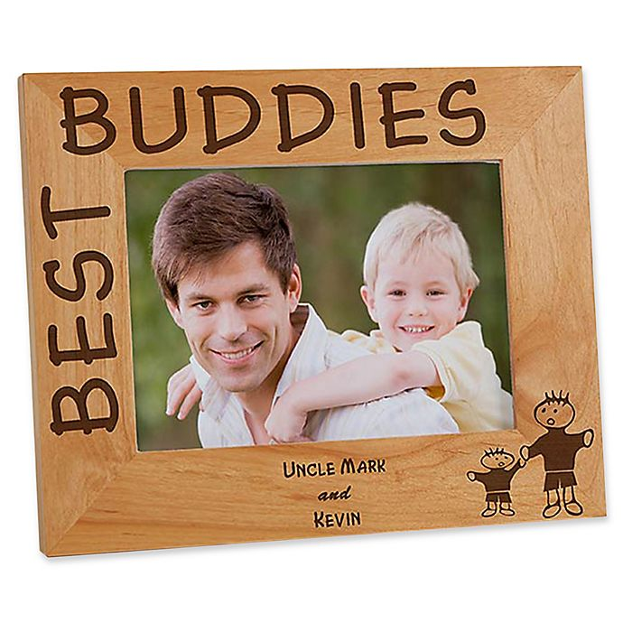 Alternate image 1 for Best Buddies 5-Inch x 7-Inch Picture Frame