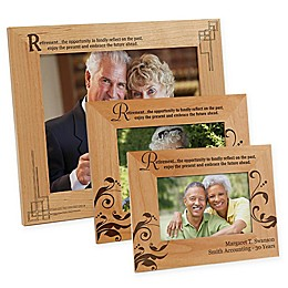"""""""Retirement Is..."""" Picture Frame"""