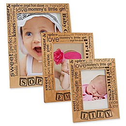 Our Pride and Joy Vertical Picture Frame