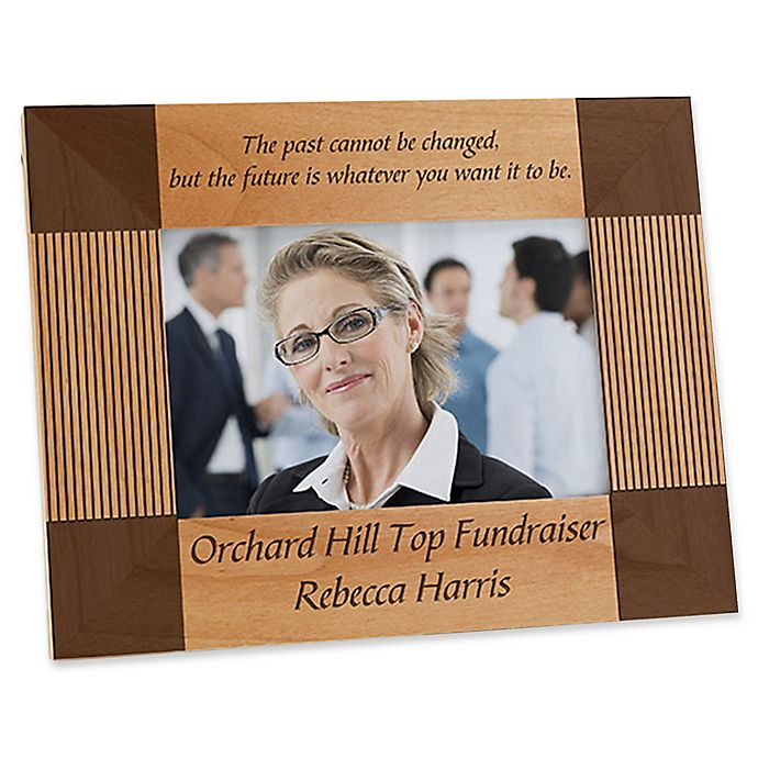 Alternate image 1 for Inspiring Quotes 4-Inch x 6-Inch Picture Frame