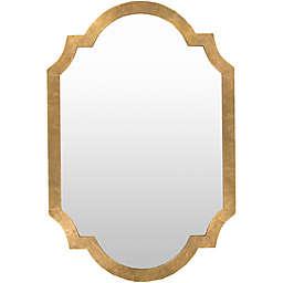 Surya Morley 45-Inch x 30-Inch Rectangular Wall Mirror in Gold