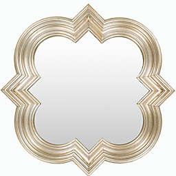 Surya Venatici 34-Inch Wall Mirror in Gold