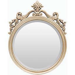 Surya Bristow 19.5-Inch x 25-Inch Wall Mirror in Champagne
