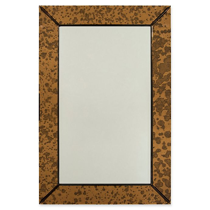 Alternate image 1 for Surya Tyrell 24-Inch x 36-Inch Rectangular Wall Mirror in Copper