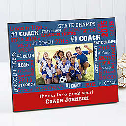 All Star Coach 4-Inch x 6-Inch Picture Frame