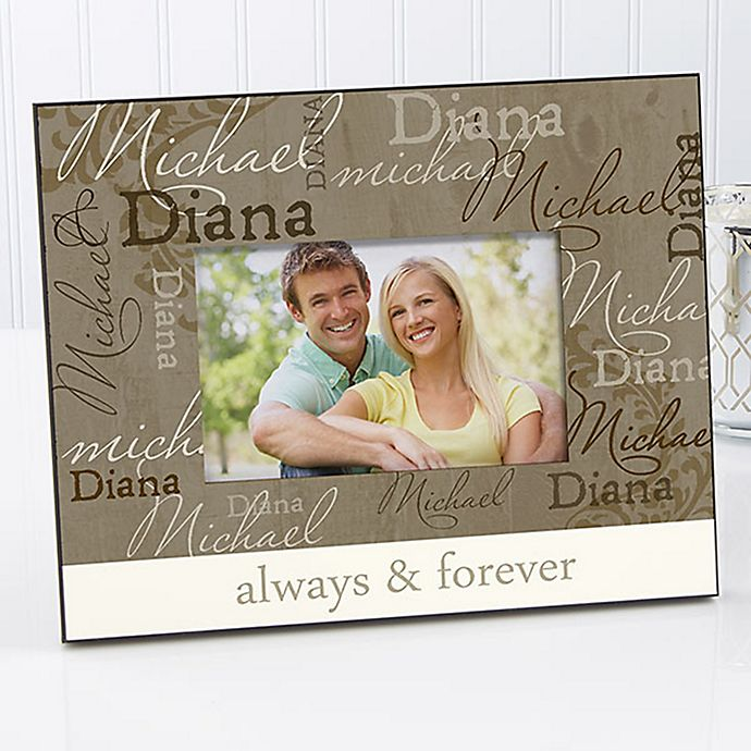 Alternate image 1 for Loving Couple 4-Inch x 6-Inch Picture Frame