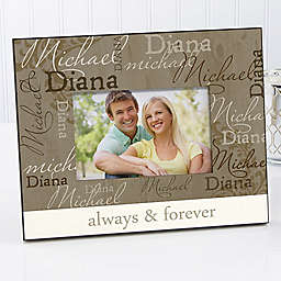 Loving Couple 4-Inch x 6-Inch Picture Frame