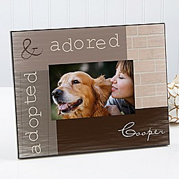 Adopted Pet 4-Inch x 6-Inch Picture Frame