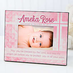 May You be Blessed 4-Inch x 6-Inch Christening Picture Frame