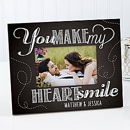 You Make My Heart Smile 4-Inch x 6-Inch Picture Frame