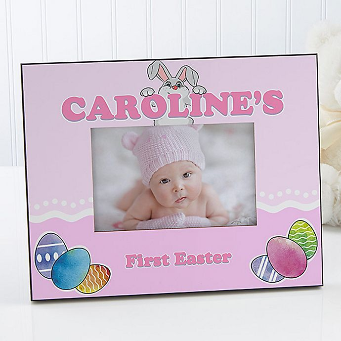Alternate image 1 for Bunny Love 4-Inch x 6-Inch Easter Picture Frame