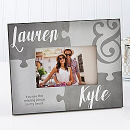 Missing Piece to my Heart 4-Inch x 6-Inch Picture Frame