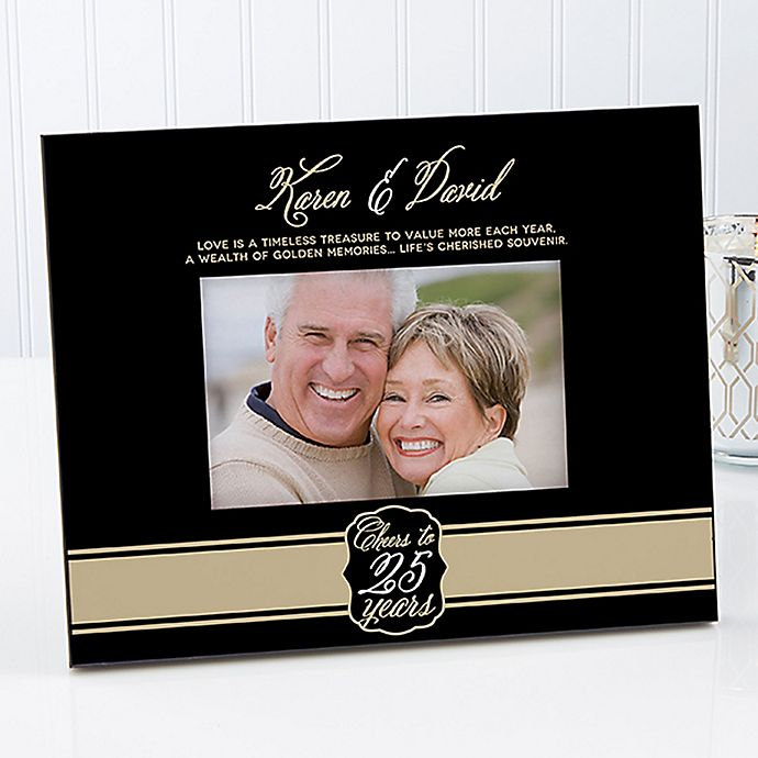 Cheers To Then And Now 4 Inch X 6 Inch Picture Frame Bed Bath Beyond